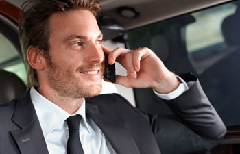 Executive travel chauffeur hire in Oxfordshire